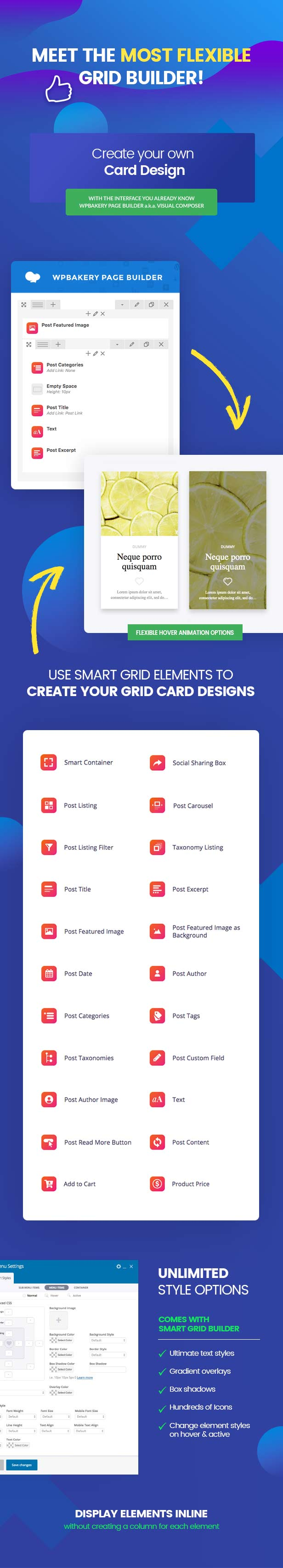 Smart Grid Builder - WPBakery Page Builder Add-on - 4